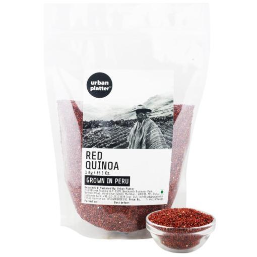 Urban Platter Red Quinoa (Grown in Peru), 1Kg