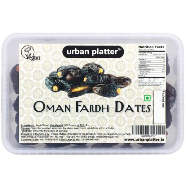 Urban Platter Fardh Dates from Oman, 500g