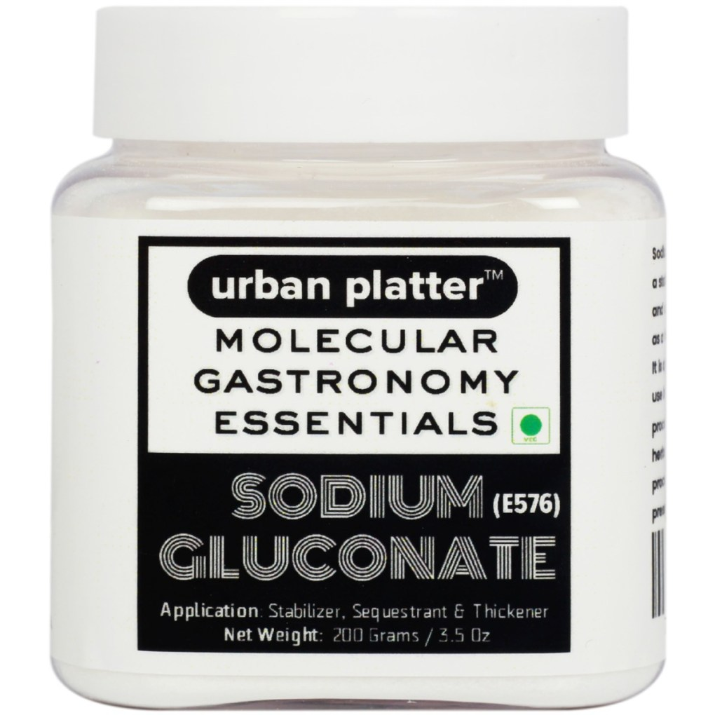 Urban Platter Sodium Gluconate Powder, 200g