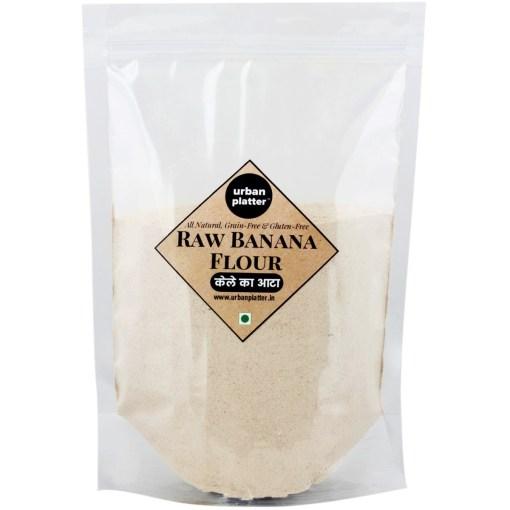 Urban Platter Raw Banana Flour, 1Kg / 35.2oz [All Natural, Premium Quality, Gluten Free]