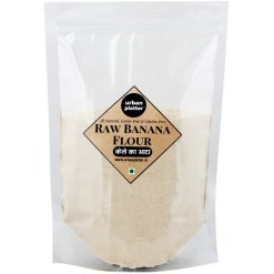 Urban Platter Raw Banana Flour, 1Kg / 35.2oz [All Natural, Premium Quality, Gluten Free]