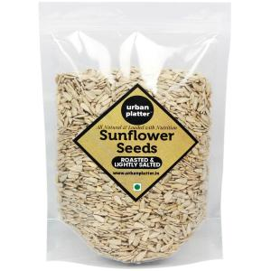 Urban Platter Roasted Sunflower Seeds (Salted), 1Kg [Nutty, Mildly Salted; Delicious]