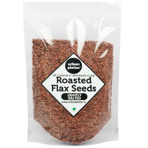 Urban Platter Roasted Salted Flax Seeds, 400g