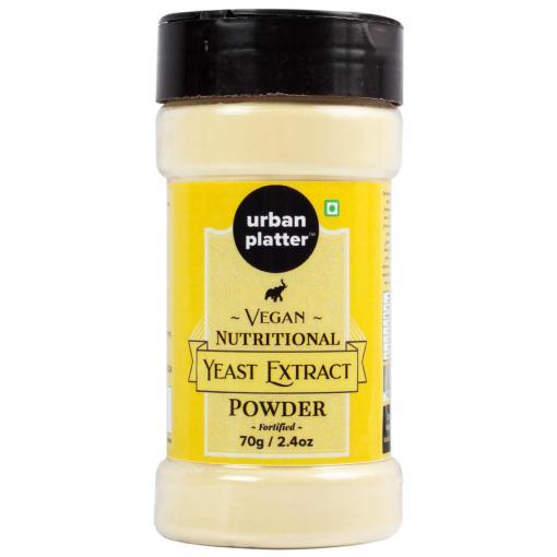 Urban Platter Yeast Extract Powder Shaker Jar, 70g / 2.5oz [Fortified, Cheesy Flavour, Vegan-friendly]