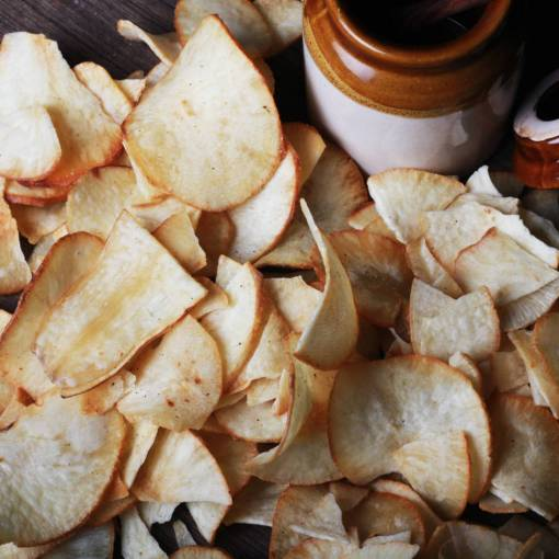 Urban Platter Home-made Tapioca Root Chips, 400g