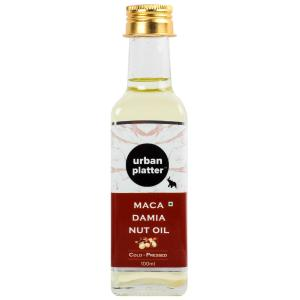 Urban Platter Cold-Pressed Macadamia Nut Oil, 100ml [Nutty Aroma, Nutrient Rich]