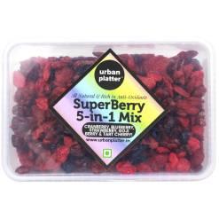 Urban Platter 5-in-1 SuperBerry Mix, 400g (Rich in Anti-oxidants)