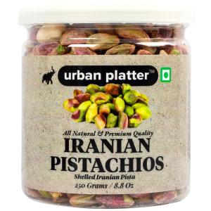 Urban Platter Whole Raw Shelled Pistachio (Pista), 250g