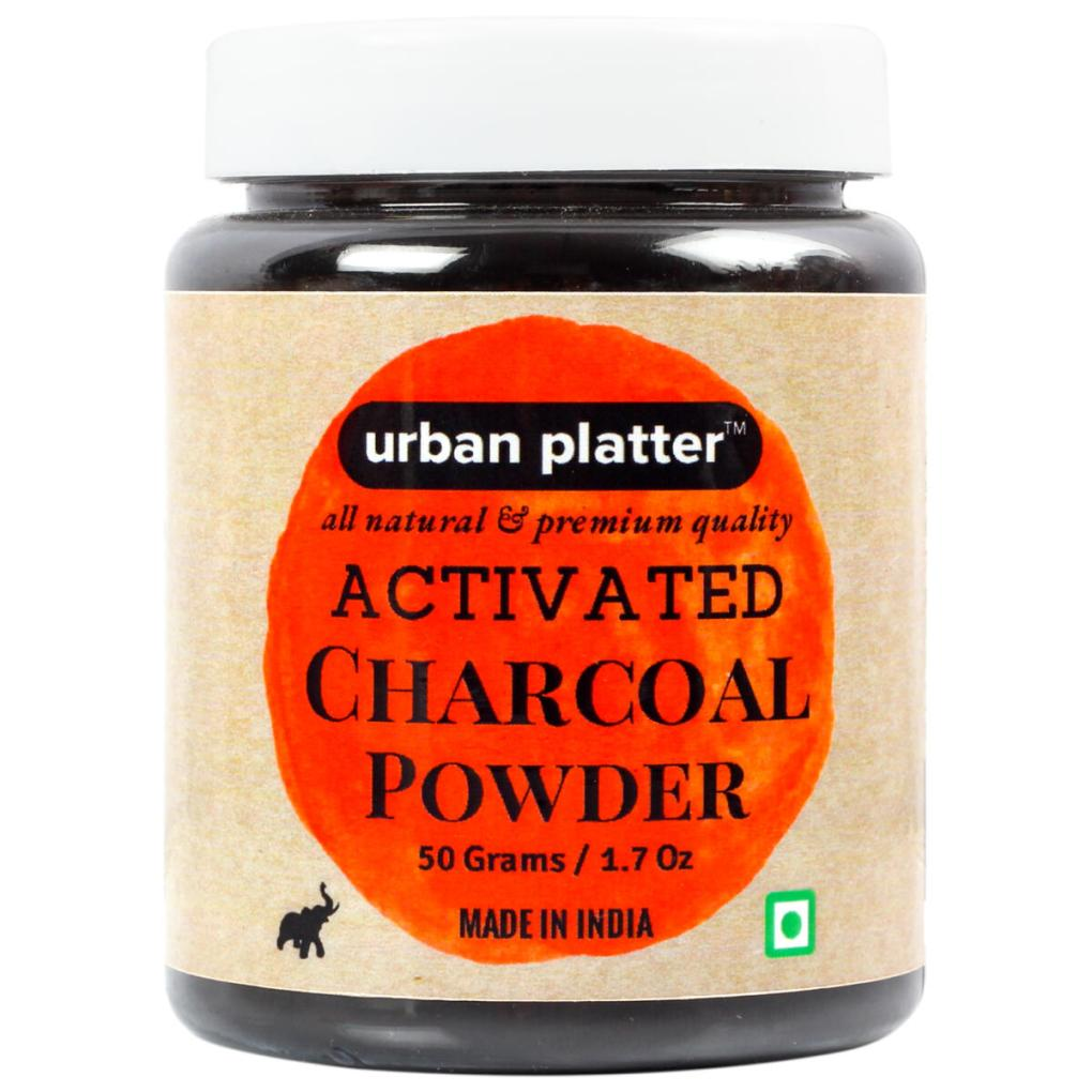 Urban Platter Activated Coconut Carbon Powder, 50g