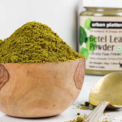 Urban Platter Freeze-Dried Betel Leaf (Calcutta Paan) Powder, 50g [All Natural, Full of Flavour]