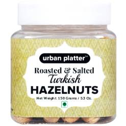 Urban Platter Roasted & Salted Turkish Hazelnuts, 150g