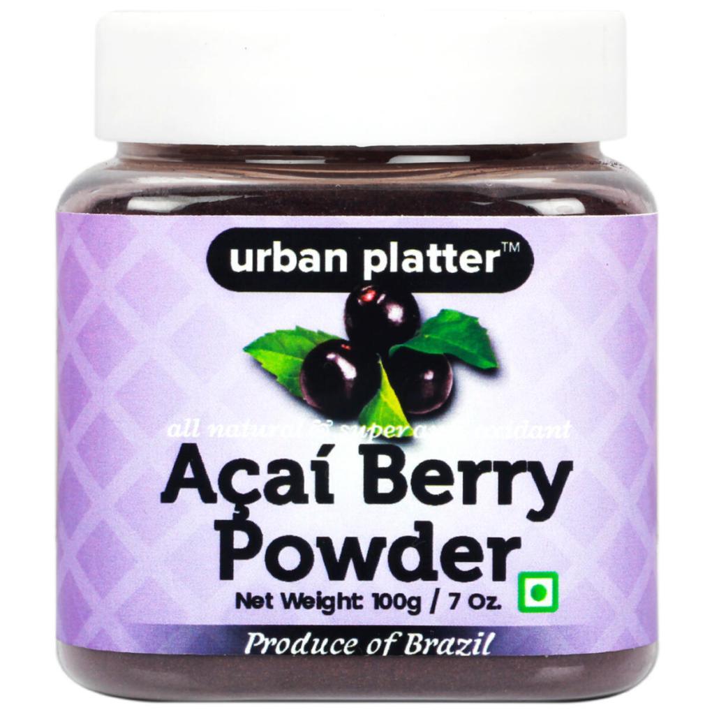 Urban Platter Acai Berry Powder, 100g [All Natural & Super Anti-oxidant]