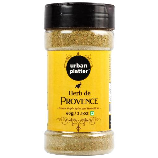 Urban Platter Herbes de Provence Shaker Jar, 60 Grams (A traditional French Staple Spice and Herb Blend)