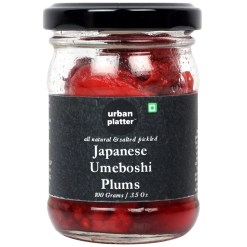 Urban Platter Japanese Pickled Umeboshi Plums, 100g