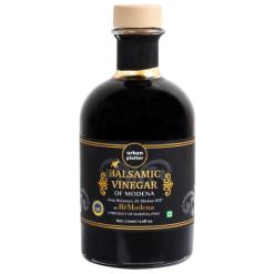 Urban Platter Italian Balsamic Vinegar of Modena, 250ml / 8.8oz [Aceto Balsamico Tradizionale di Modena DOP, Aged for 3 years, Intense Grape Must Vinegar]
