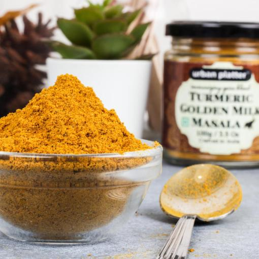 Urban Platter Turmeric Golden Milk Masala, 100g [All Natural & Immunizing Spice Blend for Turmeric Latte]