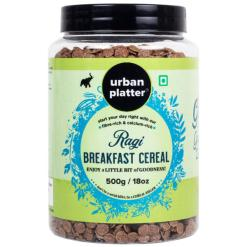 Urban Platter Ragi Cereal (Nachani), 500g [Deliciously Indulgent]