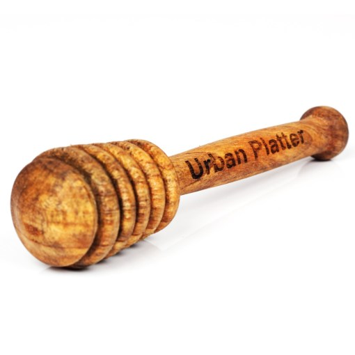 Urban Platter 5 Inch Long Handcrafted Wooden Foodgrade Honey Dipper Stick – Pack Of 1