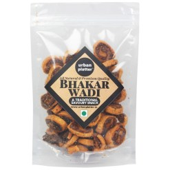 Urban Platter Traditional Style Bhakarwadi, 400g [Crunchy, Light and Flavourful]