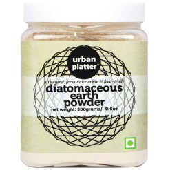 Urban Platter Fresh Water Diatomaceous Earth Powder, 300g [Food-grade; Naturally Detoxifying; Health Rejuvenator]