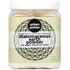Urban Platter Fresh Water Diatomaceous Earth Powder, 300g [Food-grade; Naturally Detoxifying; Health Rejuvenator]