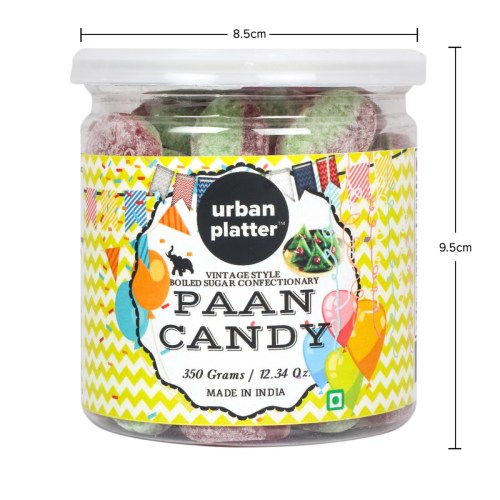 Urban Platter Paan Candy, 350g [Vintage-style Boiled Sugar Confectionery]
