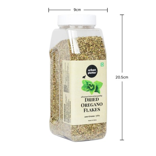 Urban Platter Dried Oregano Flakes Shaker Jar, 200g