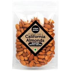 Urban Platter Roasted Salted California Almonds, 1Kg