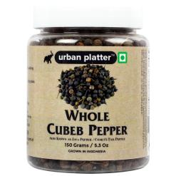 Urban Platter Whole Cubeb Pepper, 150g / 5.3oz [Java Pepper, Kebab Chini, Grown in Indonesia]