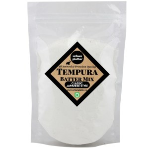 Urban Platter Tempura Batter Mix, 1kg/35.3oz [All Natural, Premium Quality, Classic Japanese Style]