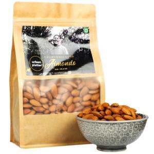 Urban Platter California Gold Almonds, 1Kg / 35.2oz [All Natural, Shelled Non-Pareil, Delicious Badam!]