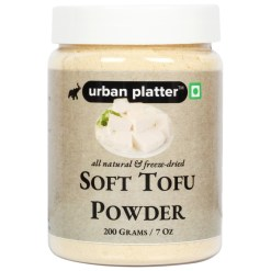 Urban Platter Freeze-Dried Soft Tofu Powder, 200g / 7oz [Protein Rich]