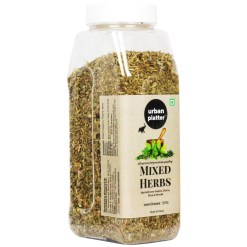 Urban Platter Mixed Herbs Shaker Jar, 200g / 7oz [All Natural, Premium Quality, Seasoning Mix of Oregano, Rosemary, Basil, Thyme]