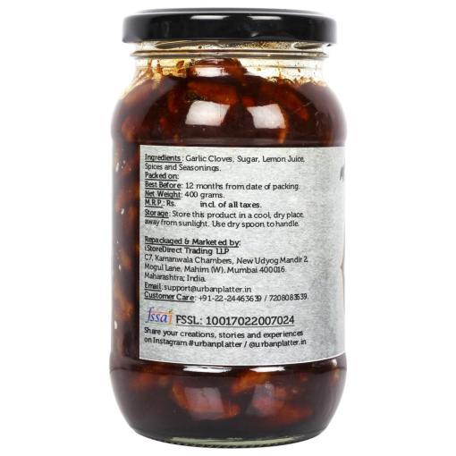 Urban Platter Parsi Garlic Clove Chutney Pickle, 400g