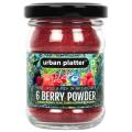 Urban Platter Freeze-Dried 6 Berry Powder, 50g / 1.8oz [Blueberry, Mulberry, Cherry, Raspberry, Strawberry and Blackberry]