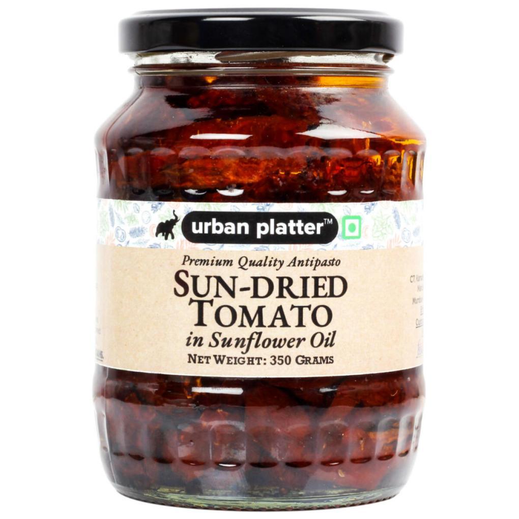 Urban Platter Sun Dried Tomato in Sunflower Oil, 350g