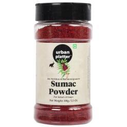Urban Platter Sumac Powder Shaker Jar, 100g / 3.5oz [All Natural, Premium Quality & Fruity]
