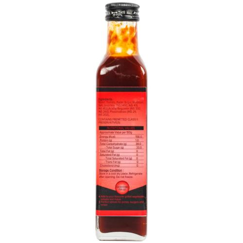 Urban Platter Barbeque Hot Sauce, 275g / 9.7oz [Smokey, Delicious & Vegan]