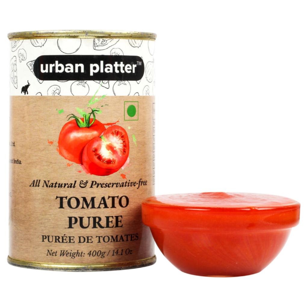Urban Platter Tomato Puree Can, 400g / [Puree De Tomates]