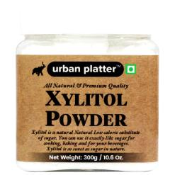 Urban Platter Xylitol Powder, 300g / 10.6oz [All Natural, Premium Quality, Low-Calorie Sugar Substitute]