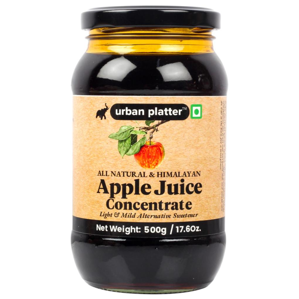 Urban Platter Himalayan Apple Juice Concentrate, 500g / 17.6oz [Pure, Light & Mild Alternative Sweetener]