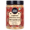 Urban Platter Gujarati  Dhana Dal Mukhwas, 300g / 10.58oz [Mouth Freshener, Digestive, After-Meal Snack]