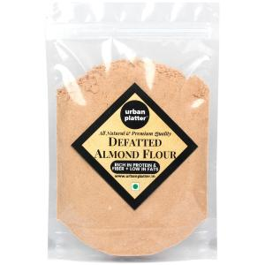 Urban Platter Defatted Almond Flour, 1kg / 35.2oz [All Natural, High-protein, High-fiber Powder]
