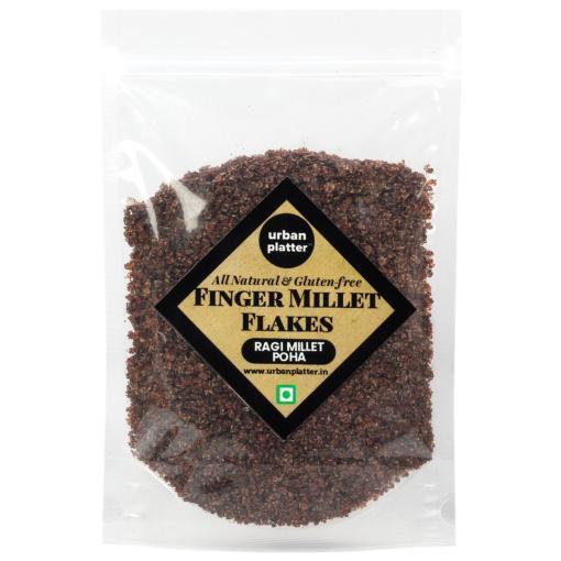 Urban Platter Finger Millet Flakes (Ragi Poha, Nachani), 1kg