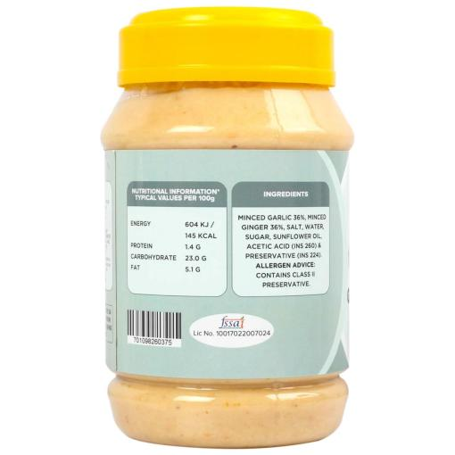 Urban Platter Ginger & Garlic Paste, 1Kg / 35.2oz [Premium Quality, Aromatic & Flavourful]
