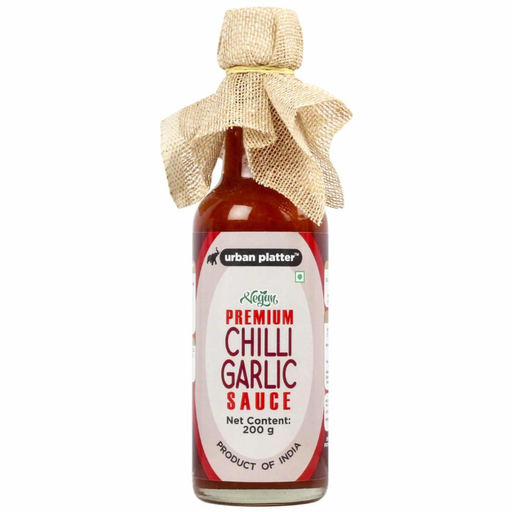 Urban Platter Chilli Garlic Sauce, 200g / 7oz [Vegan, Tasty & Delicious]