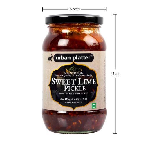 Urban Platter Sweet Lime Pickle, 450g