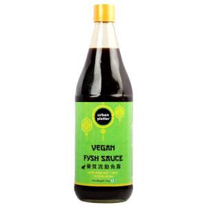 Urban Platter Vegan Fysh Sauce, 1kg / 35.2oz [Savoury, Umami, Fish Sauce]