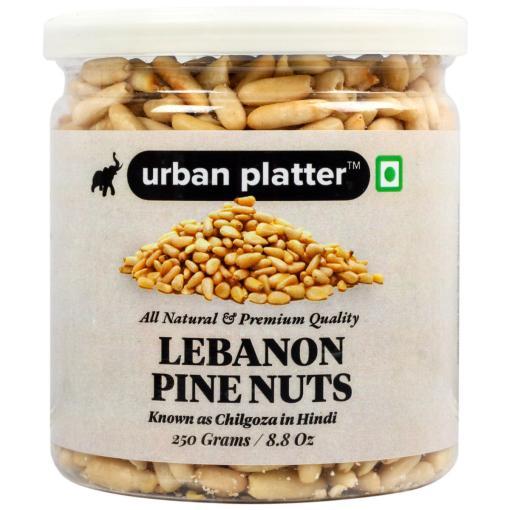 Urban Platter Lebanon Pine Nuts, 250g (Premium Quality Chilgoza)