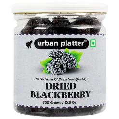 Urban Platter Dried Blackberry, 300g / 10.5oz [All Natural, Premium Quality, Deliicous]